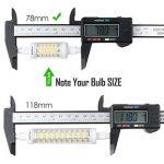 R7s LED Kakanuo 5W 78mm 600 lm Blanc Chaud 3000k 100-265V Remplacement Ampoule Projecteur Spot Non-Dimmable de la marque Kakanuo image 3 produit