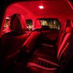 Ralbay 6 X 41mm/42mm 4 SMD LED Ampoule Feston de Voiture Lampe de Lecture/Coffre C5W Lampe de Plaque d'Immatriculation 5050 Canbus Décodage Haute Luminosité(Rouge) de la marque Ralbay image 4 produit