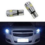 Ralbay 8pcs CANBUS Ampoules LED T10 5630 6SMD W5W 194 168 2825 Feux de position Plaque Lampe Lecture Auto Voiture Intérieur Blanc de la marque Ralbay image 4 produit