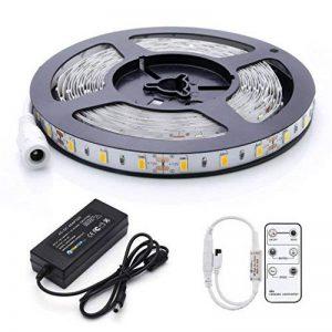Réduction pour Prime Day: Auralum® Ruban à LED Strip Flexible Bande 5M 72W SMD 5630*300 Leds IP20 Blanc Chaud Ruban à LED + Télécommande + Alimentation de la marque AuraLum image 0 produit