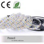 Réduction pour Prime Day: Auralum® Ruban à LED Strip Flexible Bande 5M 72W SMD 5630*300 Leds IP20 Blanc Chaud Ruban à LED + Télécommande + Alimentation de la marque AuraLum image 2 produit