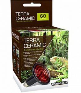 REPTILES PLANET Lampe Chauffante pour Reptiles Terra Céramique 60 W de la marque Reptiles Planet image 0 produit