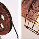 Rétro Luminaire Applique Murale Style Industriel Réglable Finition de Laiton Éclairage Vintage Edison Lampe Douille E27 pour Décoration Wall Light de Maison , Bar , Restaurants, Café, Club de la marque WKLCF image 3 produit
