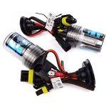 Safego 2 x Ampoules H7 Xenon HID 55W H7 6000K pour voiture Kit Xénon de conversion HID 12V AC de la marque Safego image 4 produit