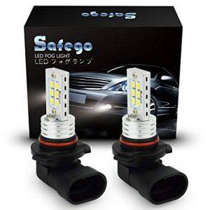 Safego 2 x HB3 9005 Lampes Ampoules Antibrouillard 12 SMD LED DRL Phares BULB LED ULTRA BLANC pour Voiture Auto LED Ampoule Bulb Lumière Anti-brouillard Xenon Blanche de la marque Safego image 0 produit