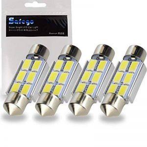 Safego 4x C5w led 36mm 5630 SMD 6 LED Ampoule Lampe Dôme Festoon C5w Led DC 12V Blanc Voiture de la marque Safego image 0 produit