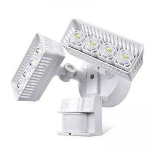Sansi Nouvelle technologie projecteur LED extérieur détecteur de mouvement 30w, 3400lm, lumière du jour 5000K, blanc de la marque Sansi image 0 produit