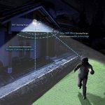Sansi Nouvelle technologie projecteur LED extérieur détecteur de mouvement 30w, 3400lm, lumière du jour 5000K, blanc de la marque Sansi image 1 produit