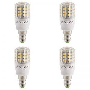 SEBSON® 4 x Ampoules LED 3W (remplace 25W) - Culot E14 - Angle du faisceau 160° - Blanc chaud - 240lm de la marque sebson image 0 produit