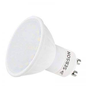 SEBSON Ampoule LED 5W GU10lumière avec 3couleurs–Comparaisons halogène 35W, 400Lumen, blanc chaud/blanc froid/blanc neutre 3color 5W GU10230V de la marque sebson image 0 produit