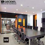 SECEIEL-LED Ronde Extra Plate 18W Downlight LED [Classe énergétique A] (Blanc Froid 6000k-6500k, pack 2-18W) de la marque SECEIEL image 4 produit