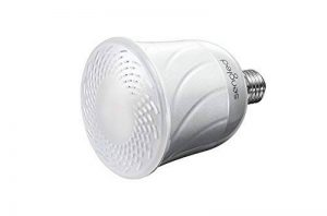 Sengled Pulse Master, Ampoule LED connectée, 8 W, 2700 K, Haut-parleur Bluetooth JBL intégré, 13 W, Compatible avec Amazon Echo (uniquement pour la partie audio), Contrôle via Appli, Connectez jusqu'à 7 Pulse Satellite (vendues séparemment) avec une Puls image 0 produit