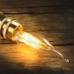SES LED 2W Candle Bent tip Bronze antique ampoules à filament LED E14Filament ampoule lampe Bougie Blanc Chaud AC 220V non dimmable Chandelier LED à économie d'énergie Lampe de la marque LEDSONE image 3 produit