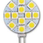Set de 5 Ampoules à LED greenandco® G4/2,4W/150lm/3000K (blanc chaud)/12 x 5050 SMD LED/Angle de diffusion 120°/12V DC de la marque greenandco image 1 produit