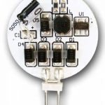 Set de 5 Ampoules à LED greenandco® G4/2,4W/150lm/3000K (blanc chaud)/12 x 5050 SMD LED/Angle de diffusion 120°/12V DC de la marque greenandco image 2 produit