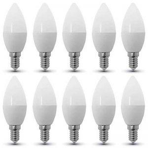 Set x 10 - 4216 - V-TAC - Ampoule LED P45 - Culot E14 - 4W Consommés (Équivalent 30W Incandescent) - Blanc chaud 2700K - 320 lm - 180° Angle de faisceau de la marque V-TAC image 0 produit
