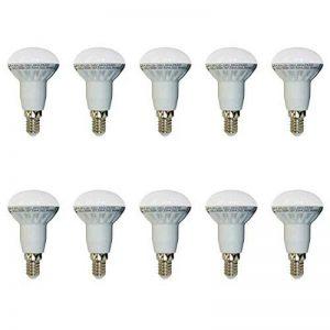 Set x 10 - 4243 - V-TAC - Ampoule réflecteur LED R50 - Culot E14-6W Consommés (Équivalent 40W Incandescent) - Blanc chaud 3000K - 400 lm - 120° Angle de faisceau de la marque V-TAC image 0 produit