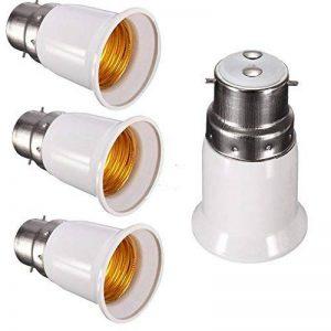 SFTlite 4x Adaptateur base de lampe converter B22 douille à E27 base de la lampe pour lampes à LED, halogène, à économie d'énergie de la marque SFTlite image 0 produit
