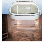 Sharplace Abats-Jour Lampe de Sauna Bain de Vapeur Pièce de Lumière Intérieur - Ovale de la marque Sharplace image 2 produit