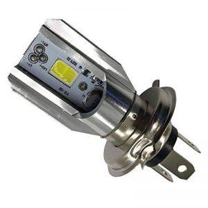 Sharplace H4 BA20D 6V-80V 6W 6500K COB LED Ampoule De Phare De Moto Voiture Électrique de la marque Sharplace image 0 produit