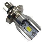 Sharplace H4 BA20D 6V-80V 6W 6500K COB LED Ampoule De Phare De Moto Voiture Électrique de la marque Sharplace image 1 produit