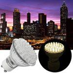 SHOP PROMOTION 5 x 48 LED GU10 ampoules chaudes lampes blanches économie d'énergie de la marque Moliies image 2 produit