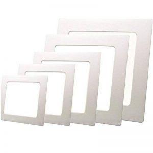 Sienoc Lampe Panneau LED Ultraslim Hi-Power carré blanc chaud 12W slim High Power Diamètre intérieur 156mm Diamètre extérieur 170mm de la marque SIENOC image 0 produit