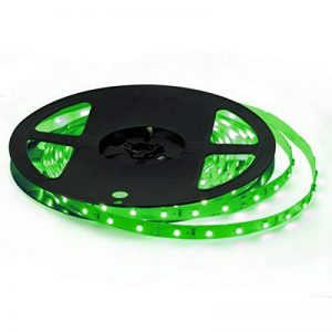 Signcomplex Bande LED flexible 3528 SMD Ruban LED avec ruban autocollant 3M 5m une bobine 12V DC (Vert) de la marque Signcomplex image 0 produit