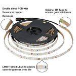 Signcomplex Bande LED flexible 3528 SMD Ruban LED avec ruban autocollant 3M 5m une bobine 12V DC (Vert) de la marque Signcomplex image 2 produit
