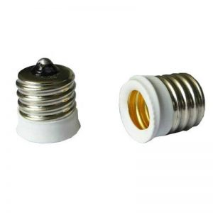 SmartDealsPro 6-pack Blanc intermédiaire E17Base au européenne Applique Base E14Base Douille d'ampoule adaptateur Réducteur (6-pack) de la marque Smartdealspro image 0 produit