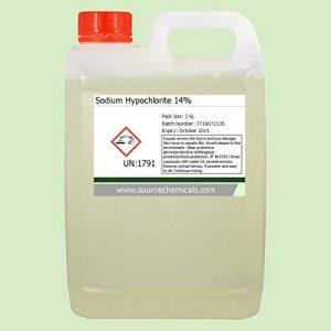 Sodium Hypochlorite 14% 2.5 Litre (2.5L) Inc Courier Delivery de la marque Source Chemicals image 0 produit