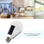 Solaire ampoule LED 2pcs E27, 12W Portable rechargeable lumières lampe solaire à suspendre pour intérieur et extérieur randonnée lecture Tente de camping pêche de la marque Dameifeng image 3 produit