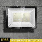 SOLLA Projecteur LED 400W, IP66 Imperméable, 32000LM, Eclairage Extérieur LED, Equivalent à Ampoule Halogène 2140W, 6000K Lumière Blanche du Jour, Eclairage de Sécurité de la marque SOLLA image 2 produit
