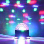 SOLMORE Boule Disco 51 LEDs RGB Lampe de Scène Jeux de Lumière Spot DJ Lumière Soirée Projecteur à Effet 2 Modes Auto/Sound Anniversaire Fête Mariage KTV Bar Club Décor 12W 220V FR Prise de la marque SOLMORE image 1 produit