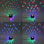 SOLMORE Boule Disco 51 LEDs RGB Lampe de Scène Jeux de Lumière Spot DJ Lumière Soirée Projecteur à Effet 2 Modes Auto/Sound Anniversaire Fête Mariage KTV Bar Club Décor 12W 220V FR Prise de la marque SOLMORE image 3 produit