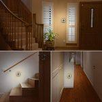 SOLMORE Lampe Murale Interieur Induction de la Lumière Veilleuse LED Économie d'Énergie Lampe de Nuit avec Prise pour Enfant Bébé Blanc Chaud pour Chambre Toilette Escalier Couloir Entrée de la marque SOLMORE image 1 produit