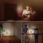 SOLMORE Lampe Murale Interieur Induction de la Lumière Veilleuse LED Économie d'Énergie Lampe de Nuit avec Prise pour Enfant Bébé Blanc Chaud pour Chambre Toilette Escalier Couloir Entrée de la marque SOLMORE image 2 produit