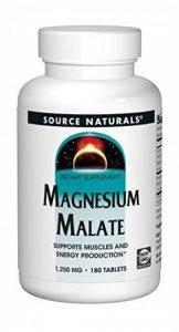 Source Naturals, Magnesium Malate, 180 Tablets de la marque Source Naturals image 0 produit