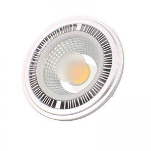 sourcing map DC 12V 7W 4000K G53 en Retrait Base Ampoule LED COB Spotlight Lampe AR111 de la marque sourcing map image 0 produit