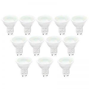 Spot LED Ampoules- Culot GU10 - Lot de 12- Lampe Bulb Halogène Lumin Tekco® Spot Dimmable - 3.5W Consommés - Équivalent 40W - 120°Angle de faisceau de la marque Lumin Tekco image 0 produit