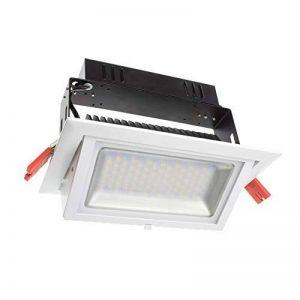 Spot projecteur LED par contenu rectangulaire Samsung 38 W Blanc Neutre Non Dimmeable de la marque LEDKIA image 0 produit