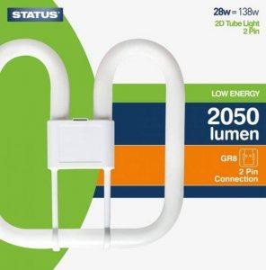 Status S28W2XD2PIN1PKB6 GR8Ampoules à basse consommation 28W Blanc de la marque Status image 0 produit