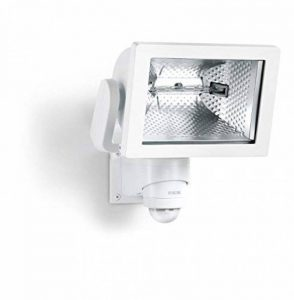 Steinel HS 500 Blanc - Projecteur halogène à détection infrarouge, lampe pour extérieur avec détecteur de mouvement 240° de la marque STEiNEL image 0 produit