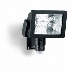 Steinel HS 500 Noir - Projecteur halogène à détection infrarouge pour façades de maison et allées, lampe pour extérieur avec détecteur de mouvement 240°, portée max. 20 m, 633417 de la marque STEiNEL image 0 produit