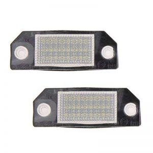 Sunpie paire de plaque d'immatriculation Lumières Lampes Ampoules pour Ford Focus 2 C-Max MK2 de la marque SUNPIE image 0 produit
