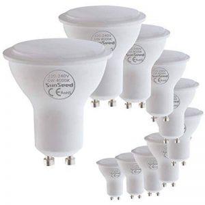 SunSeed 10x Ampoule LED Réflecteur GU10 6W équiv. 50W 120° Blanc Naturel 4000K de la marque Sun Seed image 0 produit