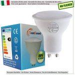 SunSeed 10x Ampoule LED Réflecteur GU10 6W équiv. 50W 120° Blanc Naturel 4000K de la marque Sun Seed image 1 produit