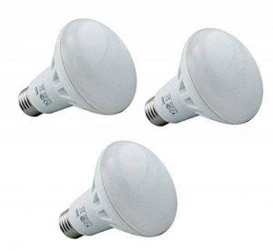 Supacell ampoules à réflecteur LED R63–Lot de 3–E27/Edison à vis–8W–blanc chaud 2700K/650lm/NON Dimmable/vie de 30000heures/100–250V/120° Angle de faisceau/50–60Htz/3ans de garantie/SKU: Slr6pes8wx3 de la marque Supacell image 0 produit