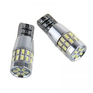 Super Bright 2x 30 SMD 3014 LED Paire de LED remplacement Can-Bus éclairage intérieur Ampoule LED 5W T10 blanc 360 ° Angle de faisceau de la marque SUNPIE image 0 produit