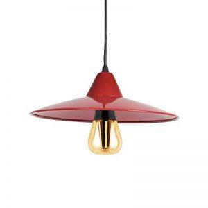 Suspension Laquée Rouge Avec Ampoule LED Filament Retro 60w Culot E27 A Visser de la marque Kanlux GmbH image 0 produit